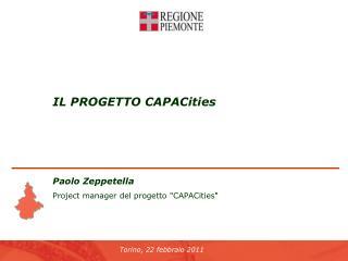 IL PROGETTO CAPACities