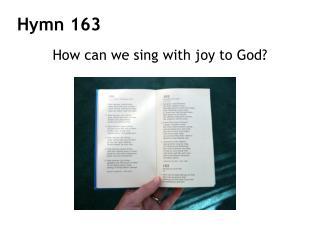 Hymn 163