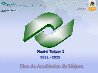 Plan de Académico de Mejora