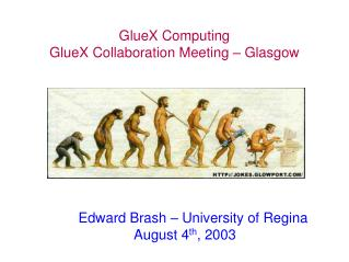 GlueX Computing GlueX Collaboration Meeting – Glasgow