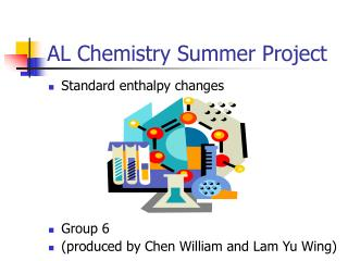AL Chemistry Summer Project