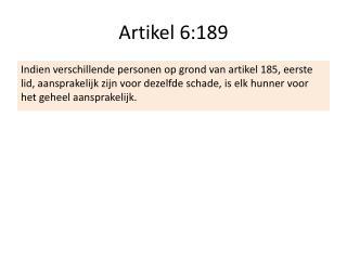 Artikel 6:189