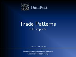 Trade Patterns U.S. imports