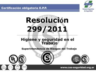 Resoluci � n 299/2011