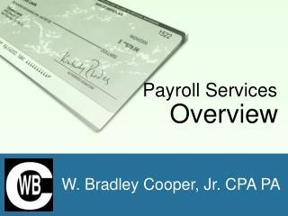 W. Bradley Cooper, Jr. CPA PA