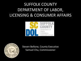 Labor, Licensing &  Consumer Affairs