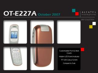 Customizable Front & Back Covers Hidden LED Event Indicator TFT 65K Colour Screen Compact & Cute
