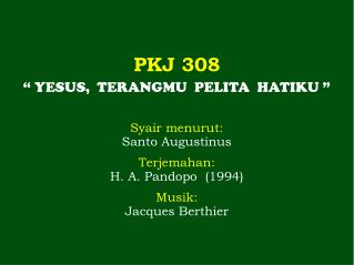 PKJ 308