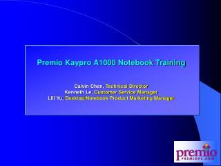 Premio M266 and K266 (AMD) Training