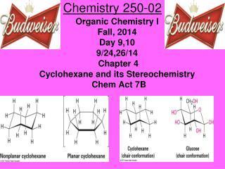 Chemistry 250-02