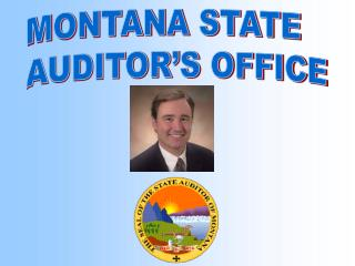 MONTANA STATE  AUDITOR'S OFFICE