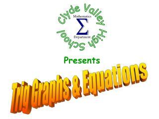 Trig Graphs & Equations