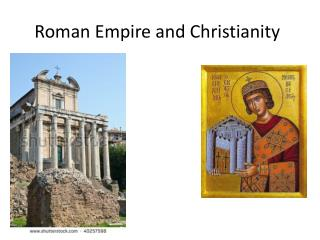 Roman Empire and Christianity