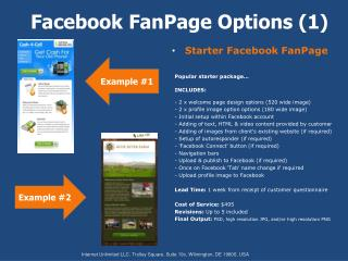 Facebook FanPage Options (1)
