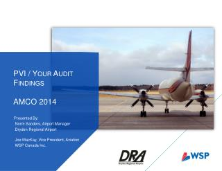 PVI / Your Audit Findings AMCO 2014
