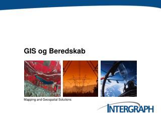 GIS og Beredskab