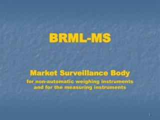 BRML- MS