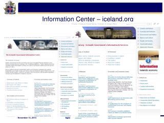 Information Center – iceland