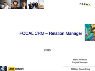 FOCAL CRM – Relation Manager