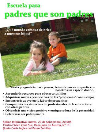 Escuela para padres que son padres