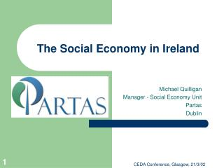 The Social Economy in Ireland