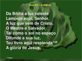 Hino 371 – A BÍBLIA