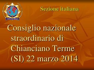 Sezione italiana