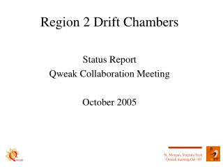 Region 2 Drift Chambers