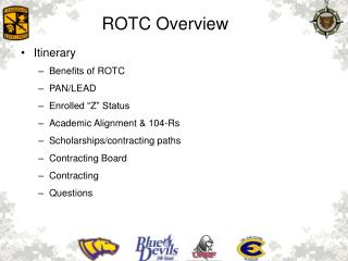 ROTC  Overview