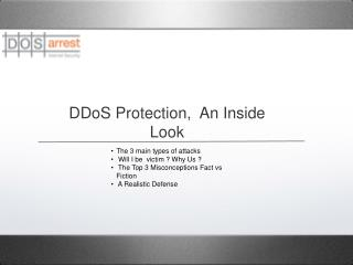 DDoS Protection,  An Inside Look