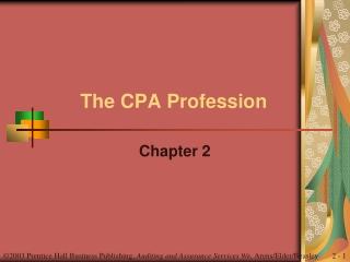 The CPA Profession