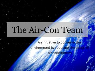 The Air-Con Team