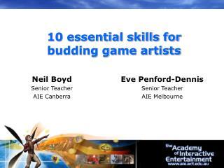 Neil Boyd Senior Teacher  AIE Canberra