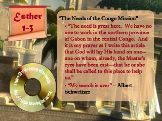 Esther 1-3