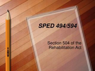SPED 494/594