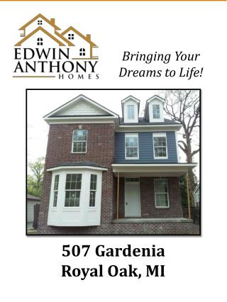 507 Gardenia Royal Oak, MI