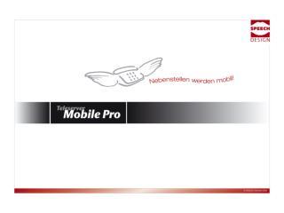 Einleitung Kurzeinleitung Mobile Pro für Motorola V3x