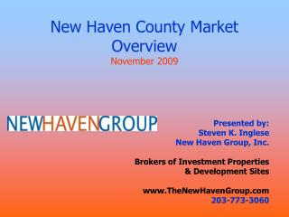 New Haven County Market Overview November 2009