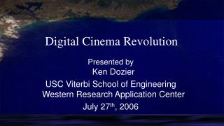 Digital Cinema Revolution