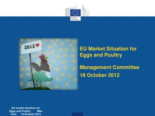 EU  M arket  S ituation for  E ggs and  P oultry Management Committee  18 October 2012