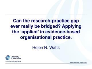 Helen N. Watts