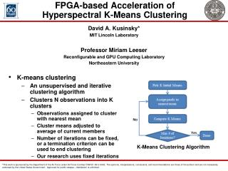 FPGA-based Acceleration of Hyperspectral K-Means Clustering
