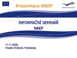 Prezentace NAEP