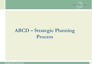 ABCD � Strategic Planning Process