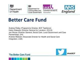 Better Care Fund