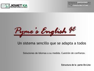 Pyme�s English  GE
