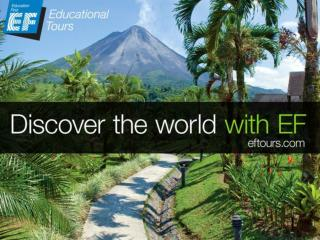 Why take an educational tour?