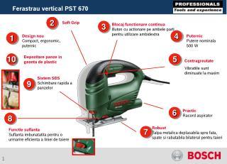 Design nou Compact, ergonomic, puternic