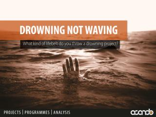 DROWNING NOT WAVING