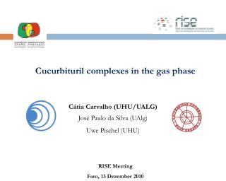 Cucurbituril complexes in the gas phase